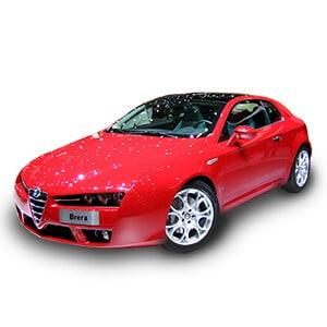 Alfa Romeo Brera fondo blanco