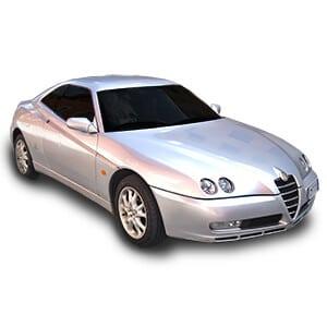 Alfa Romeo GTV fondo blanco