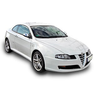 Alfa Romeo GT fondo blanco