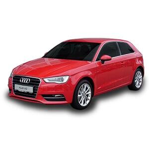 Audi A3 3gen fondo blanco