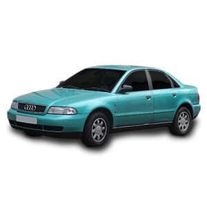 Audi a4 1generacion fondo blanco