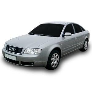 Audi a6 2generacion fondo blanco