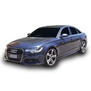 Audi a6 4generacion fondo blanco
