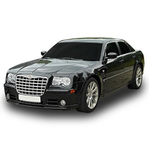 Chrysler 300 fondo blanco