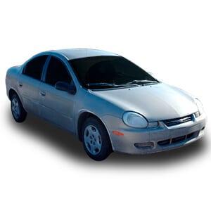 Chrysler Neon 2gen fondo blanco
