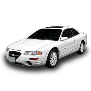 Chrysler Sebring 1gen fondo blanco