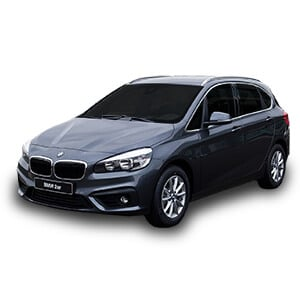 bmw serie2 active tourer fondo blanco