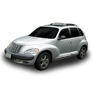 chrysler Pt Cruiser 1gen fondo blanco