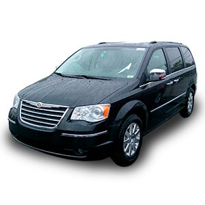 chrysler grand voyager 1gen fondo blanco