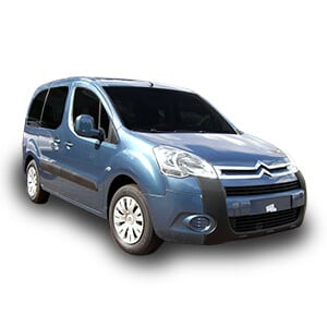 citroen berlingo 2gen fondo blanco