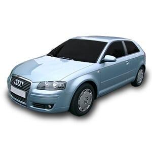 Audi A3 2generacion fondo blanco