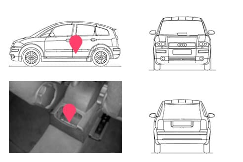 Ubicacion bastidor Audi A2