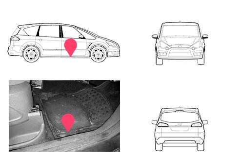 Ubicacion bastidor ford cmax segunda generacion