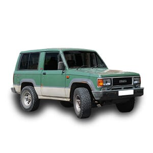 isuzu trooper chasis