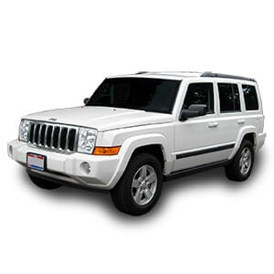 jeep commander chasis