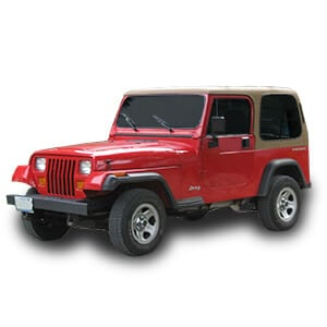 jeep wrangler 1gen chasis