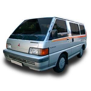 mitsubishi l300 segunda generacion chasis