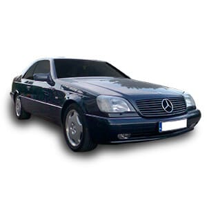 mercedes benz CL 1gen chasis