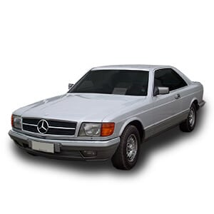 mercedes benz W126 chasis