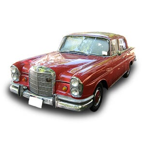 mercedes benz clase S W111 chasis