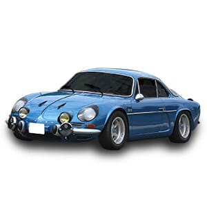renault alpine a110 chasis