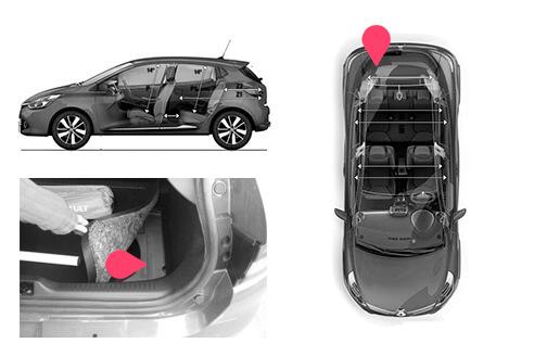 Ubicacion bastidor Renault clio 4gen