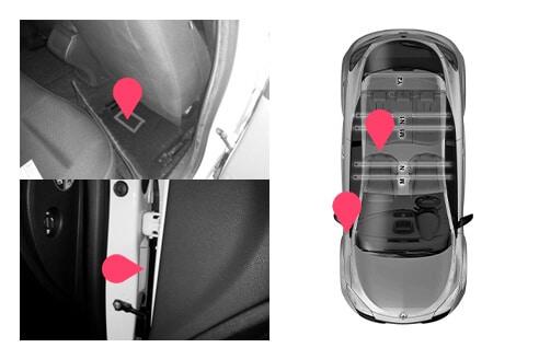 Ubicacion bastidor Renault megane 3gen
