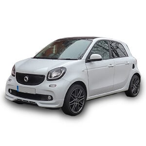 smart forfour 2gen chasis