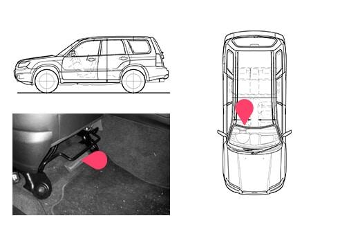 Ubicacion bastidor Subaru Forester 4gen