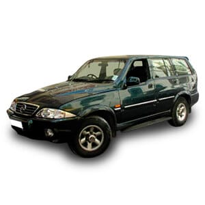 Ssangyong musso 2gen chasis