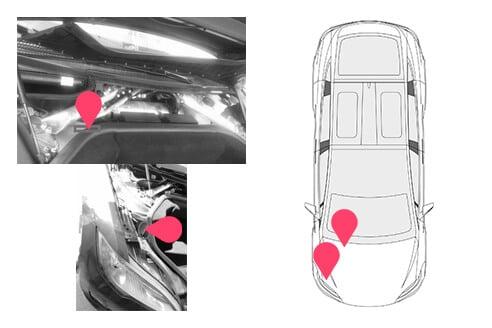 Ubicacion bastidor Tesla Model S