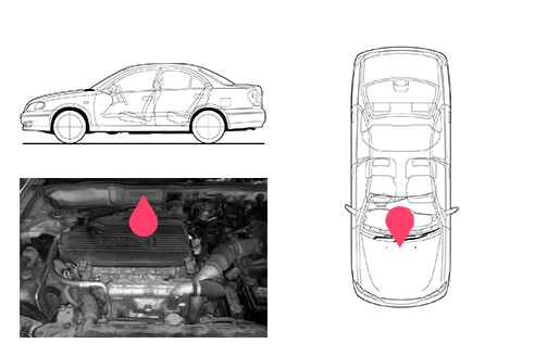 Ubicacion bastidor Nissan almera 2gen