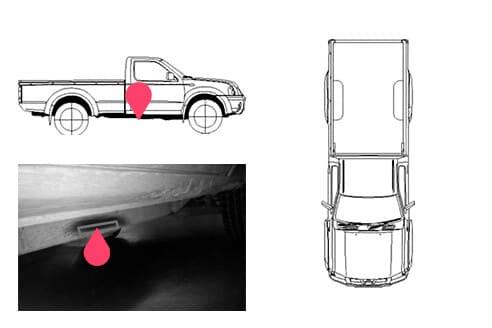 Ubicacion bastidor Nissan frontier 1gen