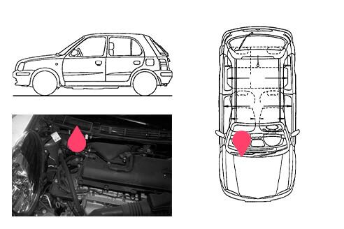 Ubicacion bastidor Nissan micra 3gen