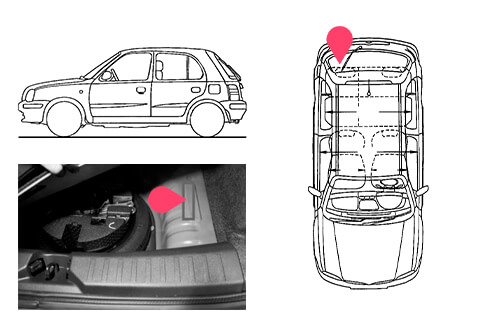 Ubicacion bastidor Nissan micra 5gen