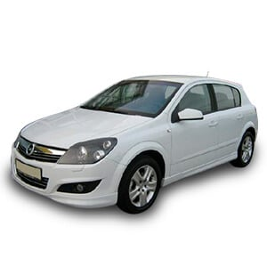 opel astra 3gen chasis