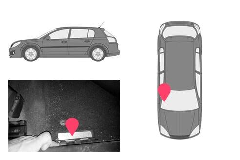 Ubicacion bastidor Opel signum