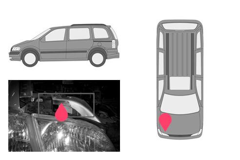 Ubicacion bastidor Opel sintra