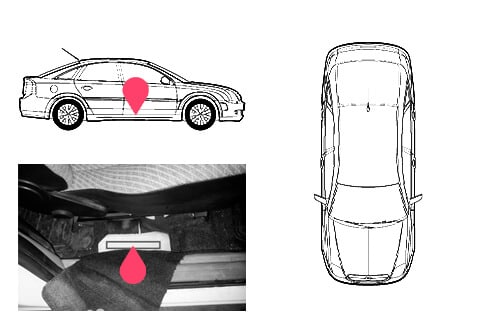 Ubicacion bastidor Opel vectra 1gen