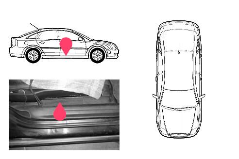 Ubicacion bastidor Opel vectra 2gen