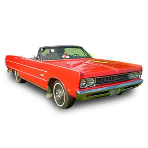 plymouth sport fury chasis